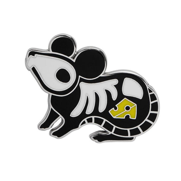 Mousy Mischief Enamel Pin - Rockamilly-Jewellery-Vintage