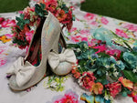 Nick of Time Mermaid Iridescent EXCLUSIVE - Rockamilly-Shoes-Vintage