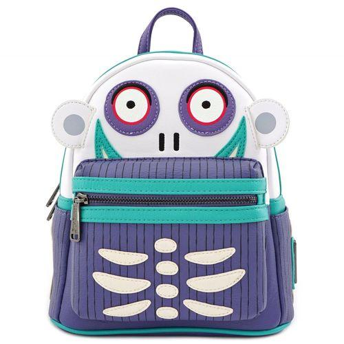 Nightmare Before Christmas Barrel Mini Backpack Loungefly - Rockamilly-Bags & Purses-Vintage