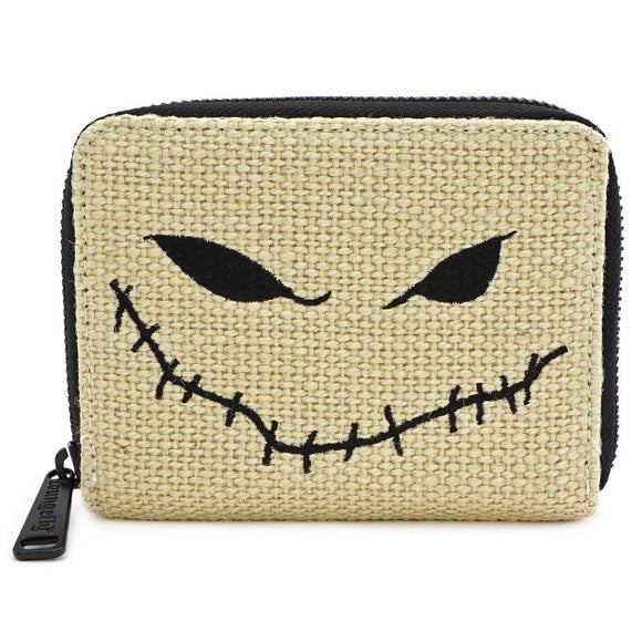 Nightmare Before Christmas Burlap Purse Loungefly - Rockamilly-Bags & Purses-Vintage