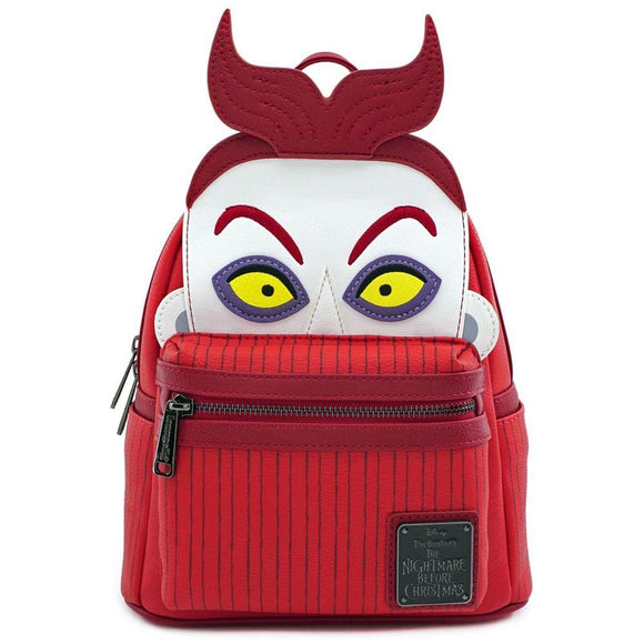 Nightmare Before Christmas Lock Mini Backpack Loungefly - Rockamilly-Bags & Purses-Vintage