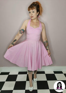 Olsson Dress in Pink - Rockamilly-Dresses-Vintage
