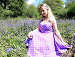 Olsson Dress Purple - Rockamilly-Dresses-Vintage