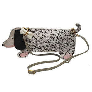 Over The Moon Sausage Dog Mini Bag - Rockamilly-Bags & Purses-Vintage