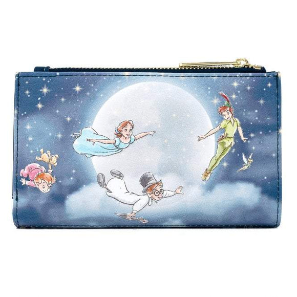 Peter Pan Second Star Flap Wallet - Rockamilly-Bags & Purses-Vintage