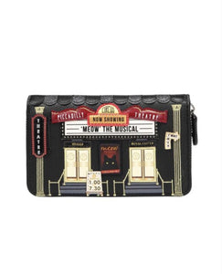 Piccadilly Theatre Medium Ziparound Wallet - Rockamilly-Bags & Purses-Vintage