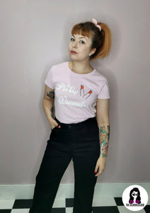 'Pin Up Wannabe' The Sweet Charlotte Tee - Rockamilly-Tops-Vintage