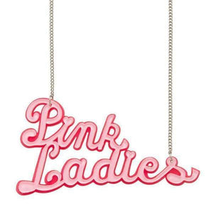 Pink Ladies Grease Necklace Erstwilder - Rockamilly--Vintage