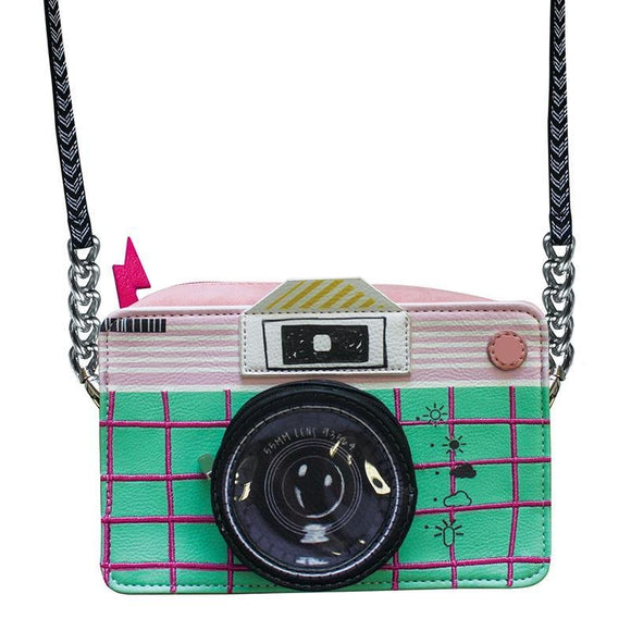Pix Camera Mini Bag - Rockamilly-Bags & Purses-Vintage