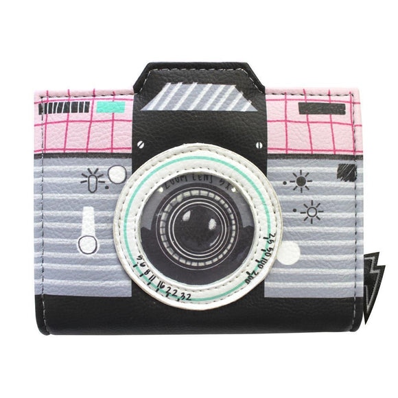 Pix Camera Wallet - Rockamilly-Bags & Purses-Vintage