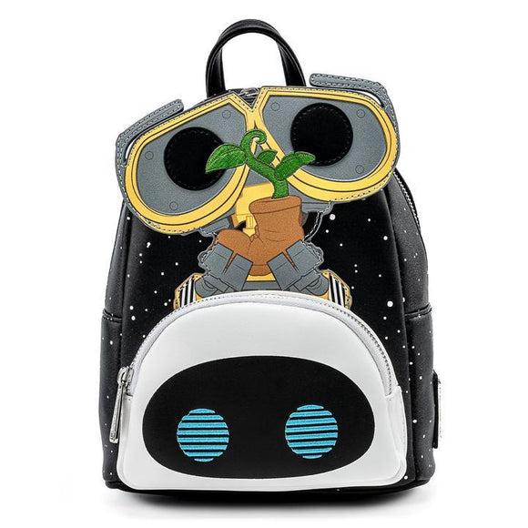 Pixar Wall-E & Eve Earth Day Mini Backpack - Rockamilly-Accessories-Vintage