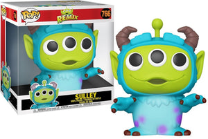 "PixarAlienRemix 10"" Sulley - Rockamilly-Nulls Gift Product-Vintage"