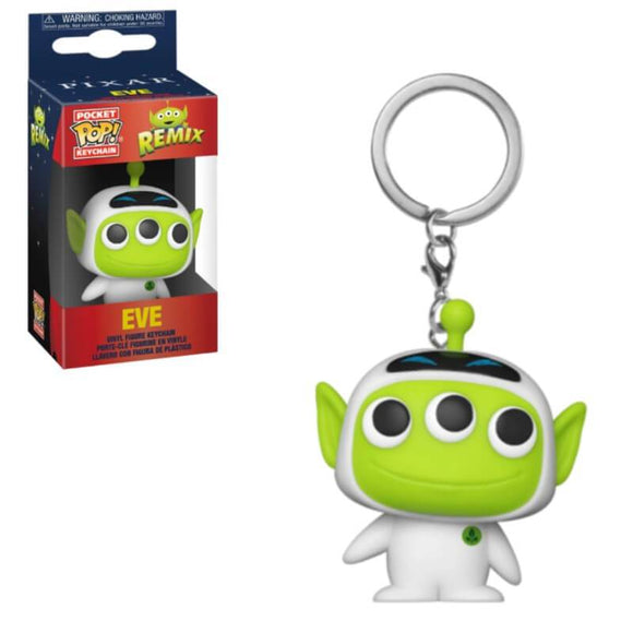 PixarAlienRemix Eve Keychain - Rockamilly-Nulls Gift Product-Vintage