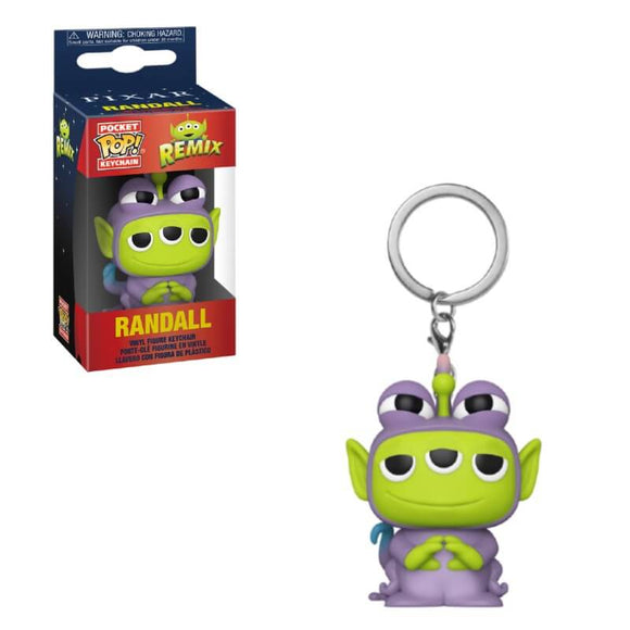 PixarAlienRemix Randall Keychain - Rockamilly-Nulls Gift Product-Vintage