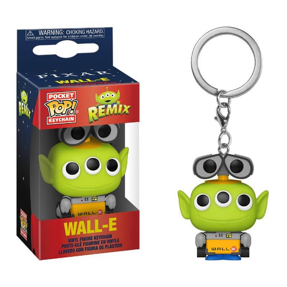 PixarAlienRemix Wall-E Keychain - Rockamilly-Nulls Gift Product-Vintage