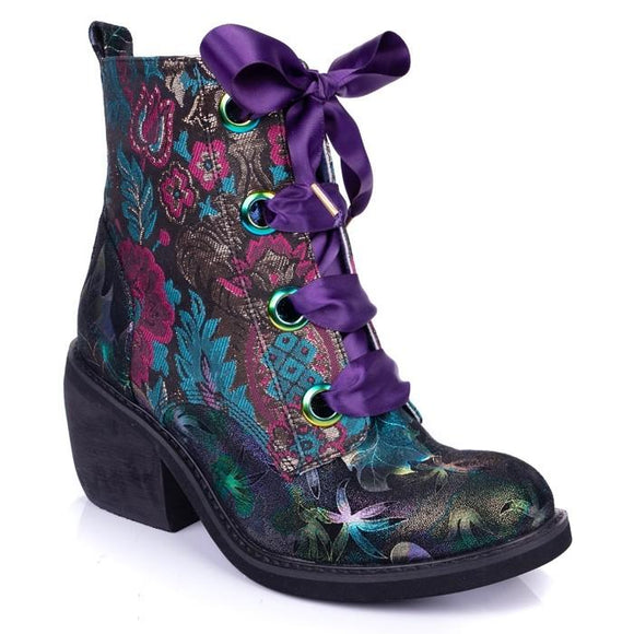 Quick Getaway Irregular Choice - Rockamilly-Shoes-Vintage