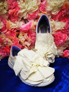 Ragtime Ruffle White Irregular Choice - Rockamilly-Shoes-Vintage