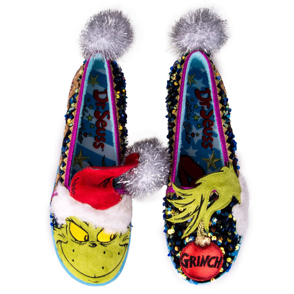 Rebel with a Cause Slippers - Rockamilly-Shoes-Vintage