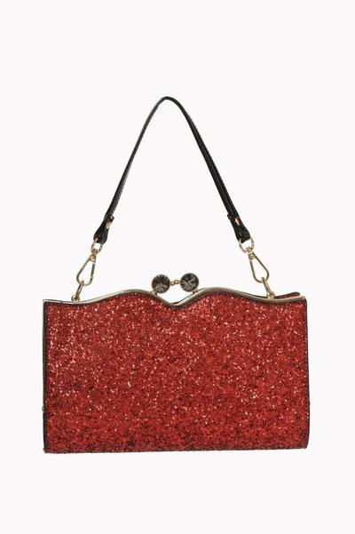 Red Glitter Dorothy Bag - Rockamilly-Bags & Purses-Vintage
