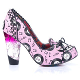 Rocko Pink High Heel - Rockamilly-Shoes-Vintage