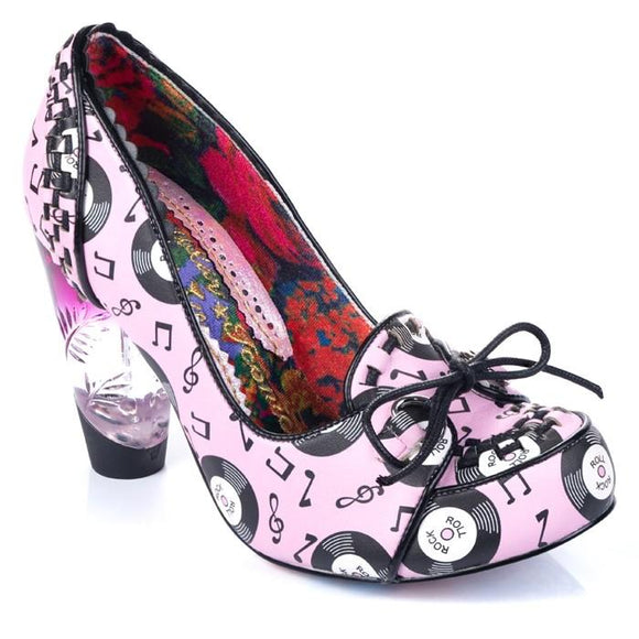 Rocko Pink Irregular Choice - Rockamilly-Shoes-Vintage