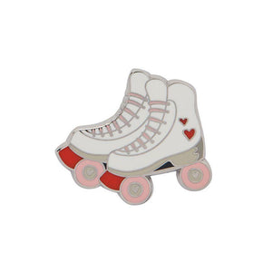 Rollicking Rollerskates Enamel Pin Erstwilder - Rockamilly-Accessories-Vintage