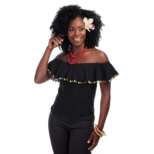 Ronda Pom Pom Top Collectif - Rockamilly-Tops-Vintage