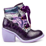 Scarper Purple - Rockamilly-Shoes-Vintage