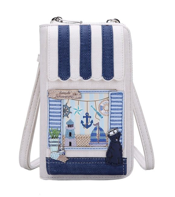 Seaside Souveniers Phone Wallet Vendula - Rockamilly-Bags & Purses-Vintage