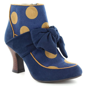 Seren Navy Ruby Shoo - Rockamilly-Shoes-Vintage