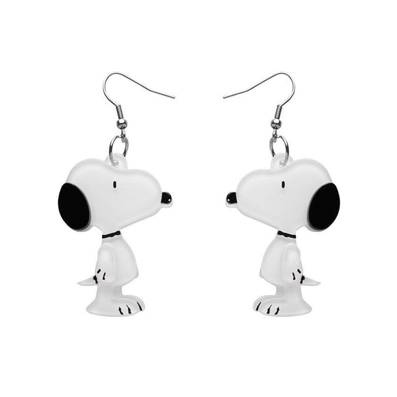 Snoopy Drop Earrings - Rockamilly-Jewellery-Vintage