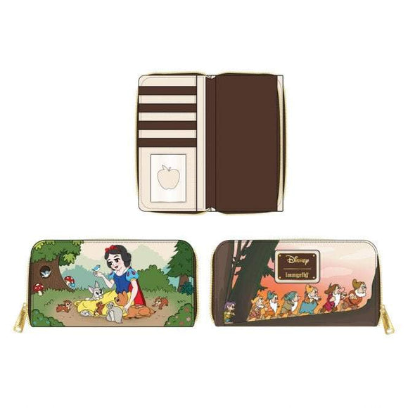 Snow White and the Seven Dwarfs Wallet - Rockamilly-Bags & Purses-Vintage