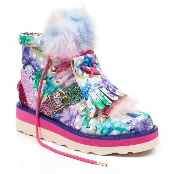 Sparkle Kingdom Irregular Choice Shoes - Rockamilly-Shoes-Vintage