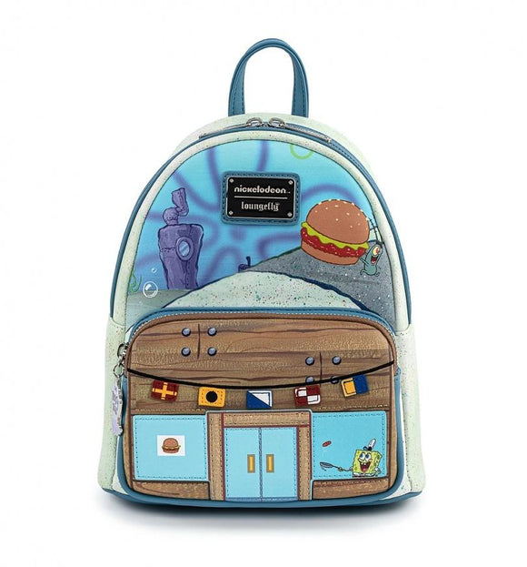 Spongebob Squarepants Krusty Krab Mini Backpack - Rockamilly-Accessories-Vintage