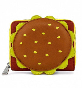 Spongebob Squarepants Plankton Krabby Patty Zip Around Wallet - Rockamilly-Accessories-Vintage