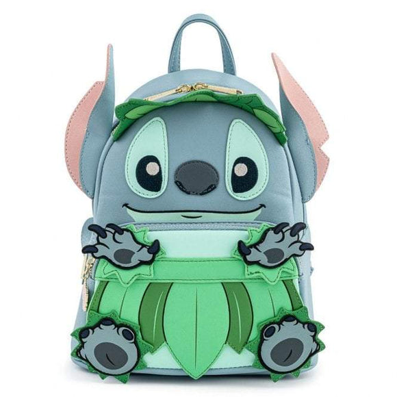 Stitch Luau Cosplay Mini Backpack - Rockamilly-Bags & Purses-Vintage