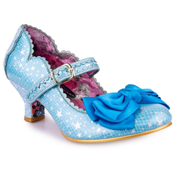 Summer Breeze Blue - Rockamilly-Shoes-Vintage