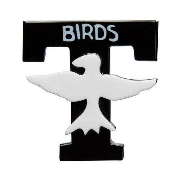 T-Birds Brooch Grease Collection Erstwilder - Rockamilly-Jewellery-Vintage