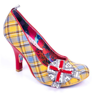 Tapetastic Yellow Irregular Choice - Rockamilly-Shoes-Vintage