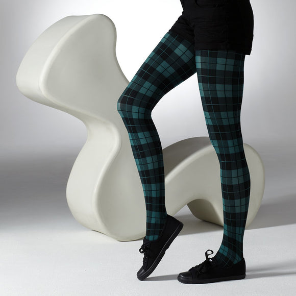 Tartan Tights - Rockamilly-Hosiery-Vintage