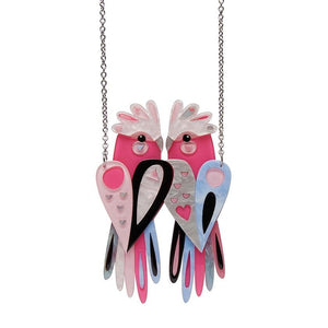 The Garrulous Galah Necklace - Rockamilly-Jewellery-Vintage