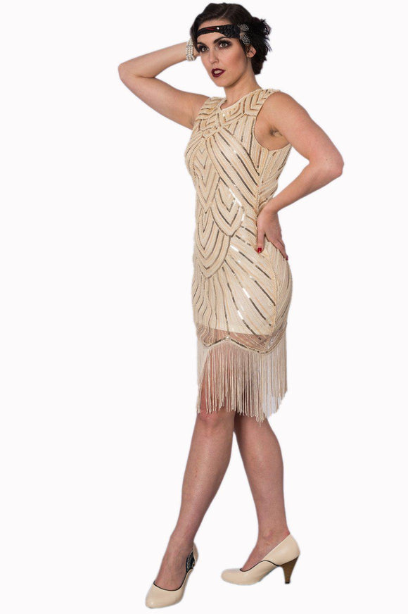 The Great Gatsby 20s Dress - Rockamilly-Dresses-Vintage