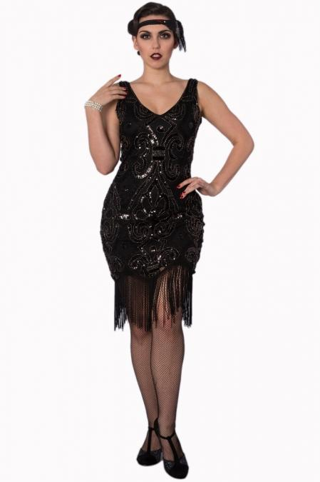 The Great Gatsby Dress - Rockamilly-Dresses-Vintage