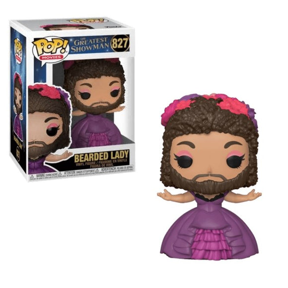 The Greatest Showman Bearded Lady - Rockamilly-Nulls Gift Product-Vintage