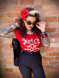 'The Jan' Watch Out! Marilyn Tee - Rockamilly-Tops-Vintage