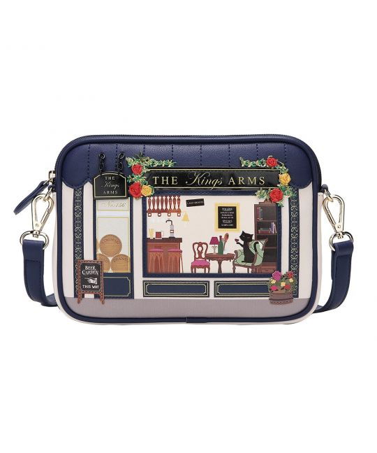 The Kings Arms Marylebone Crossbody Bag - Rockamilly-Bags & Purses-Vintage