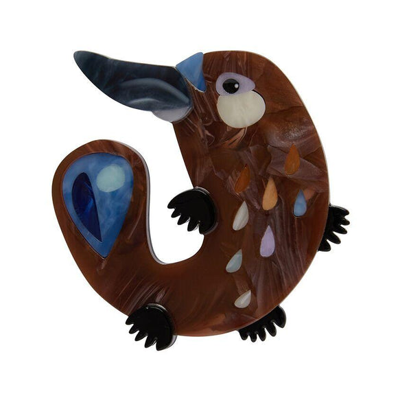 The Peppy Platypus Brooch Erstwilder - Rockamilly-Accessories-Vintage