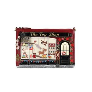 The Toy Shop Pouch Bag - Rockamilly-Bags & Purses-Vintage