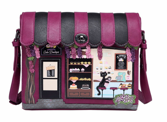 The Vendula Cake Boutique Box Bag - Rockamilly-Bags & Purses-Vintage