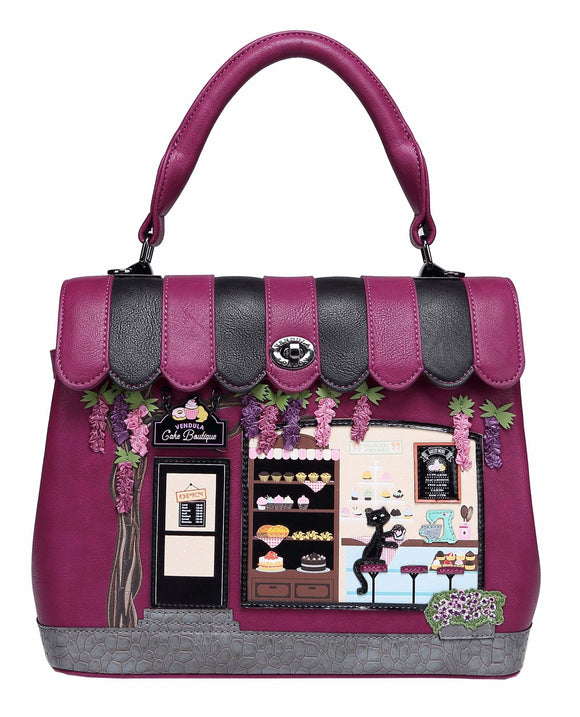 The Vendula Cake Boutique Grace Bag - Rockamilly-Bags & Purses-Vintage